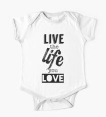 Live Life Love Kids Clothes