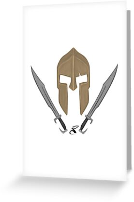 Spartan helmet swords by salimgor