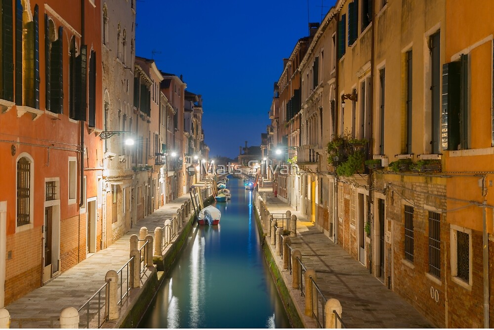 Canal in Venice by Mats Silvan