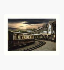 Ffestiniog Railway Station Art Print