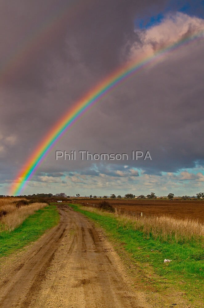"""The Rainbow and The Roadway"" by Phil Thomson IPA"