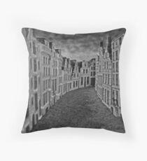 Empty Street Throw Pillow