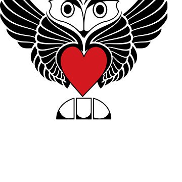 Owl & Heart by Deanozoff