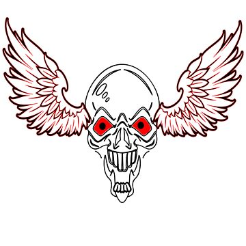 Skull & Wings by Deanozoff