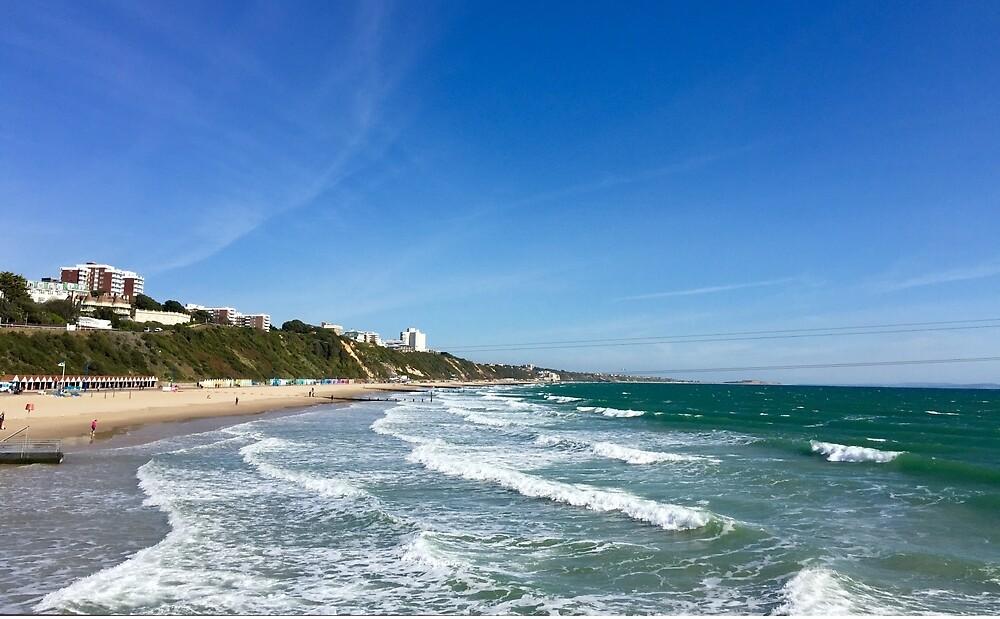 Bournemouth beach by SunshineLou