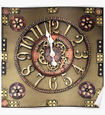 Steampunk Timepiece Poster