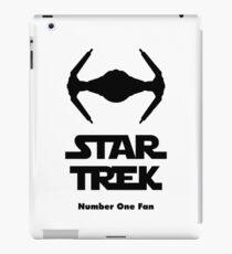 STAR TREK number one fan iPad Case/Skin