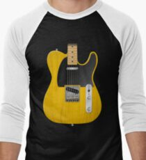 Electric Guitar Men's Baseball ¾ T-Shirt