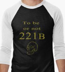 To be or not 221b Men's Baseball ¾ T-Shirt