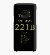 To be or not 221b Case/Skin for Samsung Galaxy