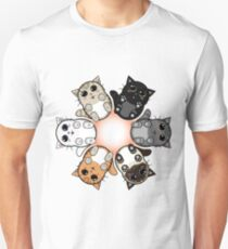 Kitty Circle Unisex T-Shirt