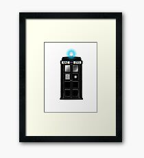 Supernatural Tardis Framed Print