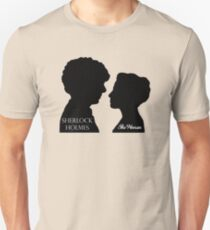 Sherlock & The Woman Unisex T-Shirt