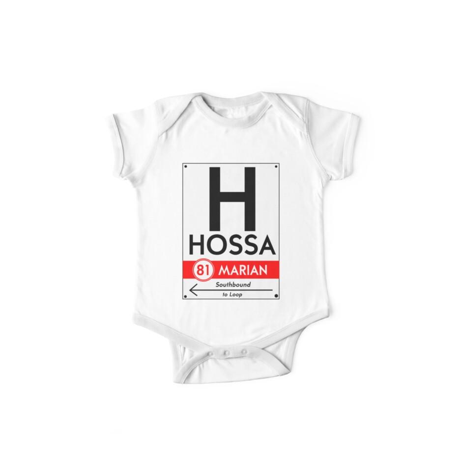Retro CTA sign Hossa by mightymiked