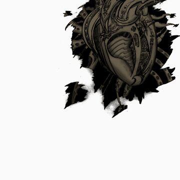 Bio Mech Heart by Tiduk