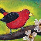 Scarlet Tanager by Laura Barbosa
