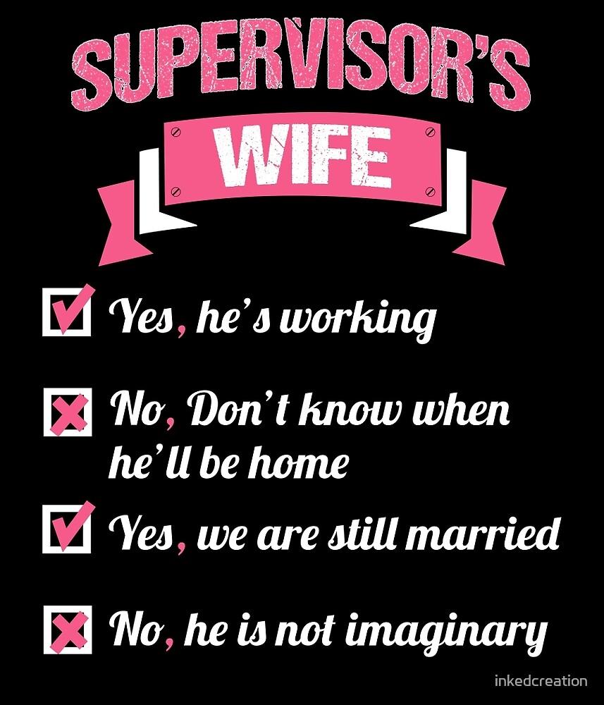 SUPERVISOR'S WIFE by inkedcreation