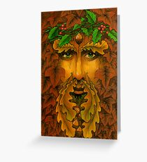 Yule King Greeting Card