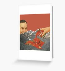 Tomato Mountain Greeting Card