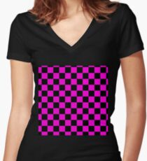 Missing Texture Women's Fitted V-Neck T-Shirt