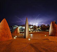 Geelong Lightning  by Peter Redmond