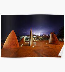 Geelong Lightning  Poster