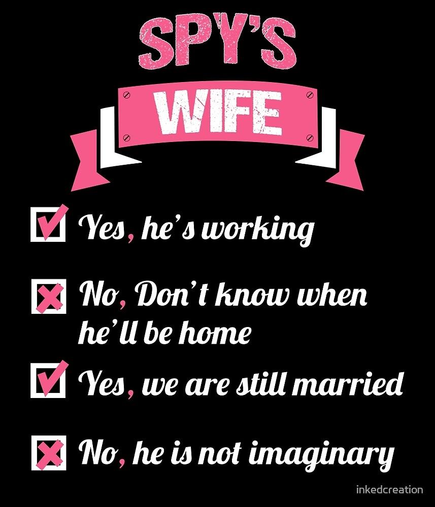 SPY'S WIFE by inkedcreation