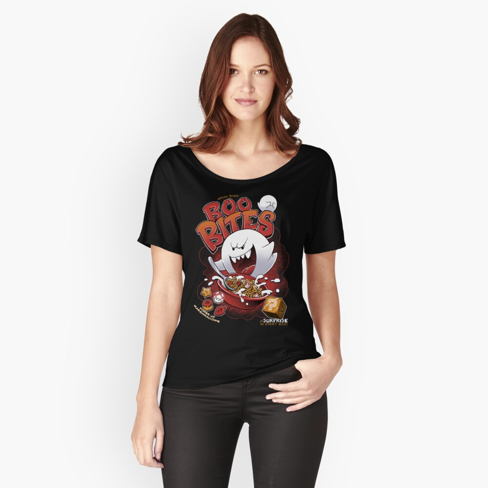 Boo Bites Loose Fit T-Shirt
