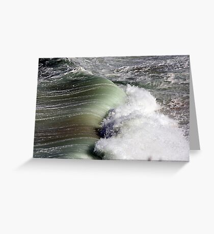 Rolling In Greeting Card