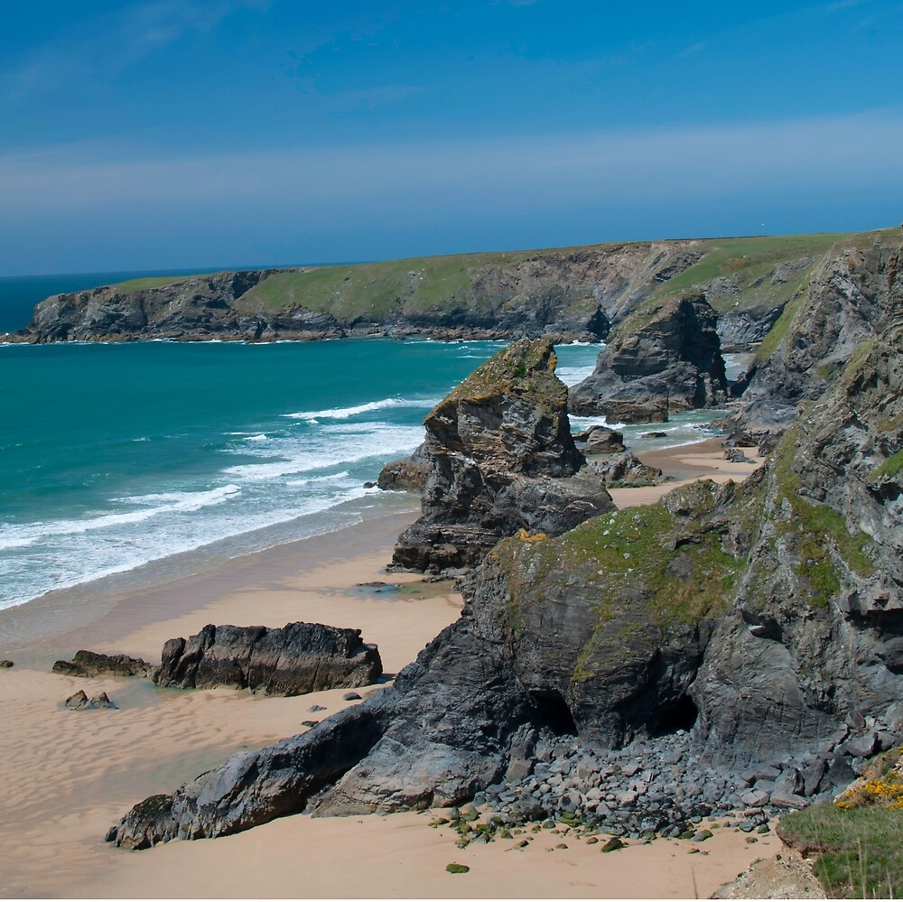 Bedruthan Steps, Cornwall by SunshineLou