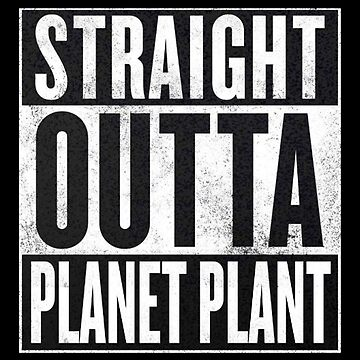 Straight Outta Planet Plant - Dragon Ball Z by yomitori