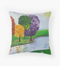 Where There Is Quiet Throw Pillow