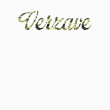 Big Text Verzave Camo by verzave