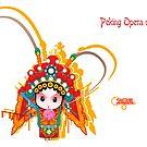 Peking Opera daomadan by skycn520