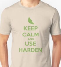 Keep Calm and Use Harden(Metapod) Unisex T-Shirt