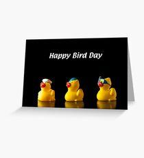 Happy Bird Day Greeting Card