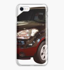 new black 4x4 suv isolated iPhone Case/Skin