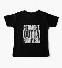 Camiseta para bebés Straight Outta Planet Vegeta - Dragon Ball Z