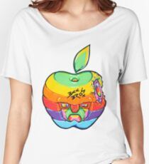 Fruity Hero // Apple Max Women's Relaxed Fit T-Shirt