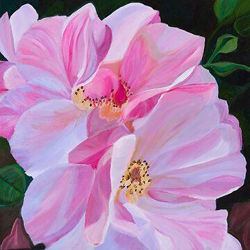Roses by JBPoppyArt