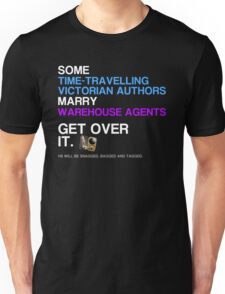 Some Victorians marry Warehouse agents Dark Version. Unisex T-Shirt