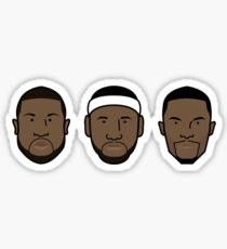 Miami Heat Big 3 Sticker