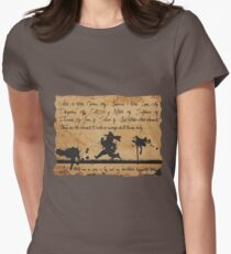 An Alchemist Note Women's Fitted T-Shirt