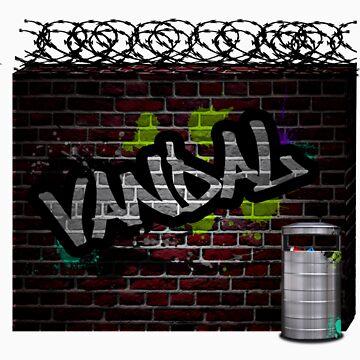 graffiti wall by kid-keelz
