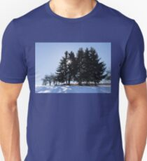 Cold, Calm and Clear - a Brilliant Winter Day High in the Mountains T-Shirt