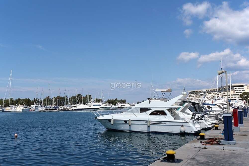 luxury yacht and boats by goceris