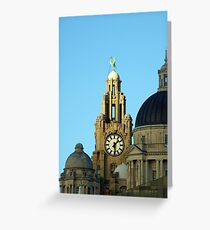 Royal liver building Greeting Card