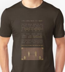 What could possibly be inside that box? Unisex T-Shirt