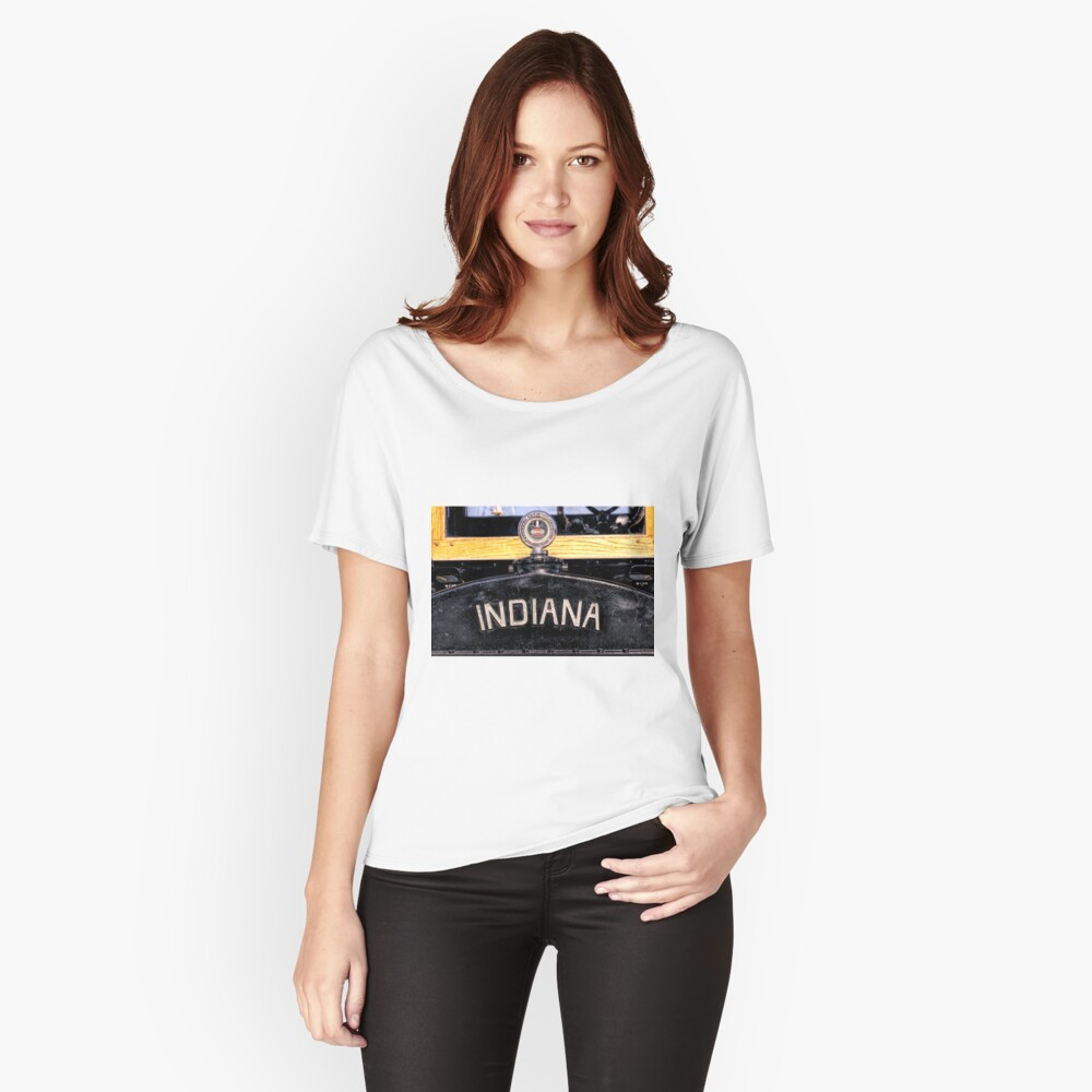 Indiana Women's Relaxed Fit T-Shirt Front