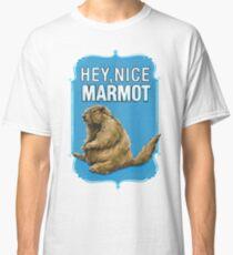 BIG LEBOWSKI- the Dude - Hey, Nice Marmot Classic T-Shirt